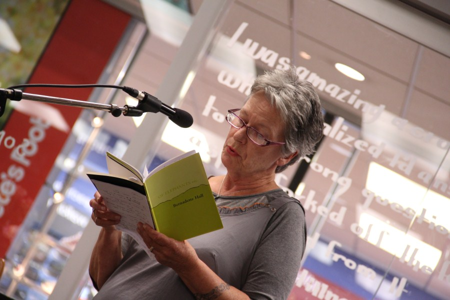 Bernadette Hall reads some of Therese's work.
