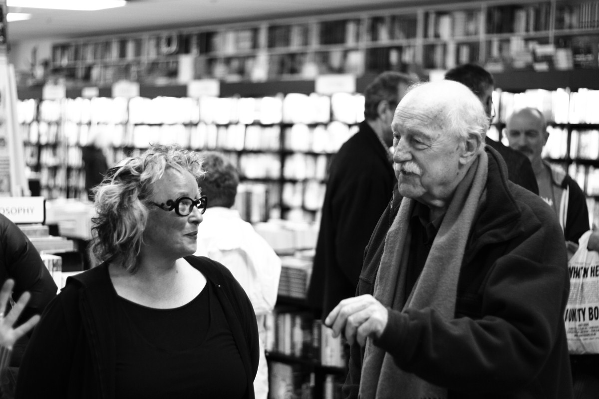Unity Books Wellington owner Tilly Lloyd & Jack Lasenby