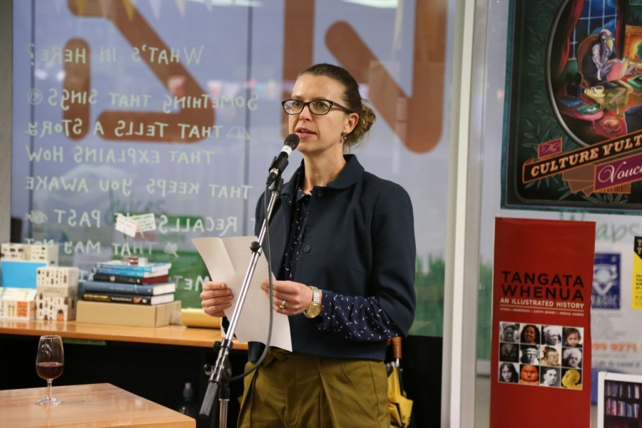 Kirsten McDougal of Victoria University Press