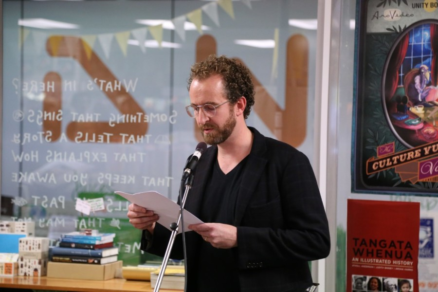 Novelist Carl Shuker launches the book.