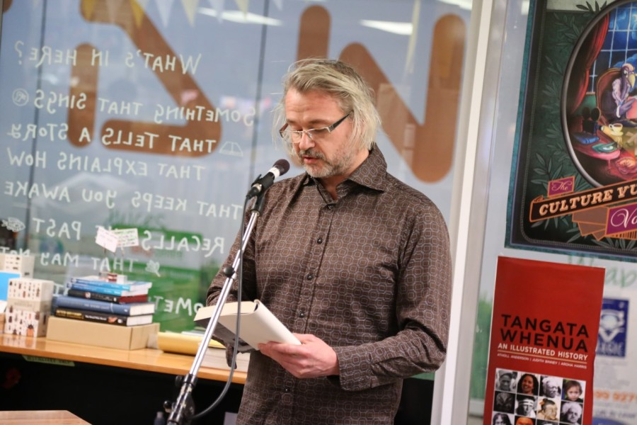 David Coventry reads an excerpt from his debut novel.