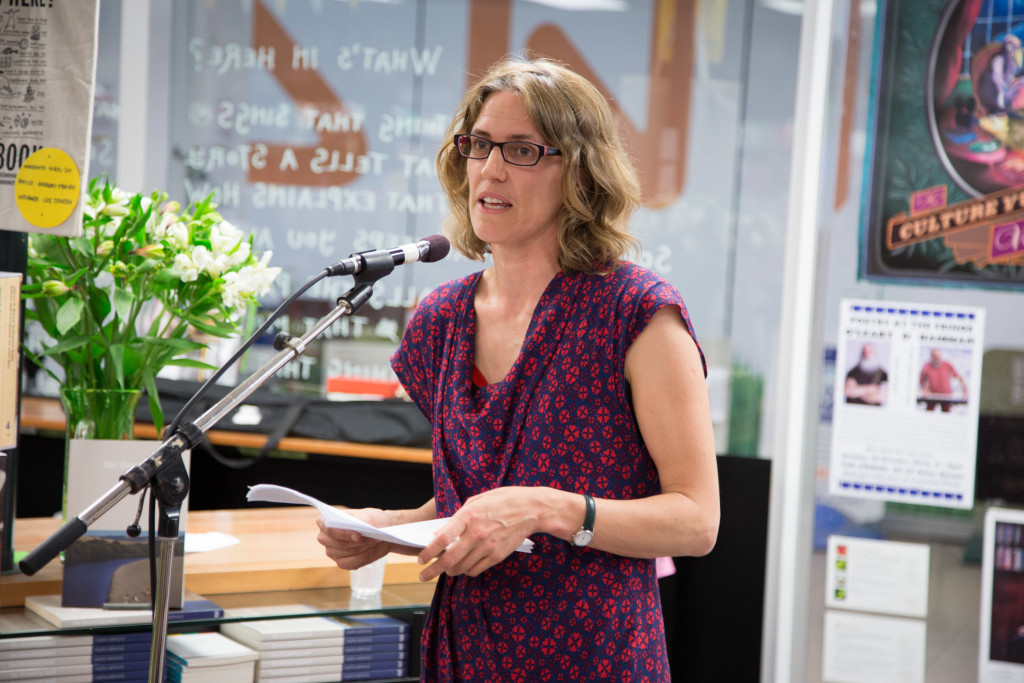Ingrid Horrocks launches the book.