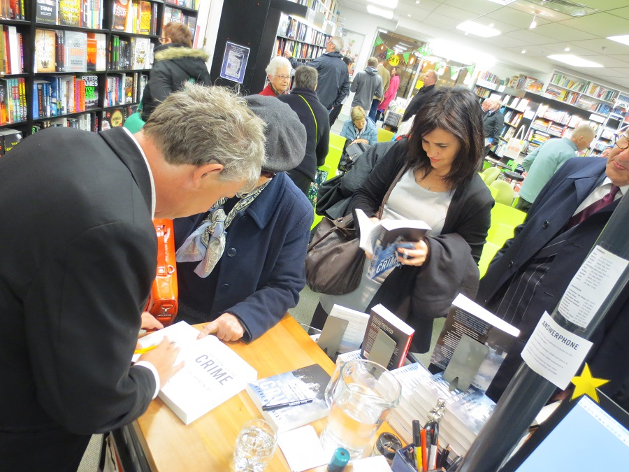 Steve signing Part II.