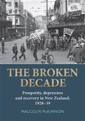 Launch | The Broken Decade by Malcolm McKinnon | Wed 28 Sept 6pm