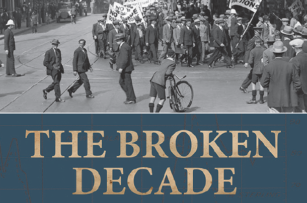 AFTERGLOW: Broken Decade: Prosperity, Depression & Recovery in NZ, 1928-39 by Malcolm McKinnon