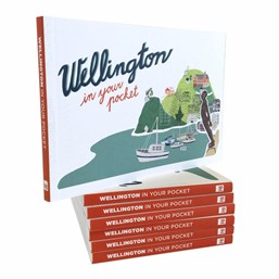 Launch | Wellington in Your Pocket by Michael Fitzsimons, Nigel Beckford & Karolina Slovakova | Thursday 17 November 6-7:30pm | In-store at Unity