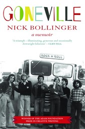 Launch | Goneville: A Memoir by Nick Bollinger | Friday 16th December 6-7:30pm | In-store at Unity