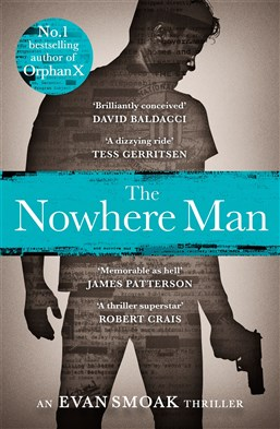 Lunchtime Event | Gregg Hurwitz author of Orphan X & The Nowhere Man | Thursday 2nd March 12-12:45pm | In-store at Unity