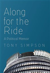 Launch | Along for the Ride by Tony Simpson | Thursday 4th May 6-7:30pm | In-store at Unity Books Wellington