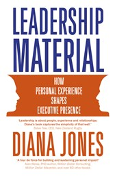 Launch | Leadership Material by Diana Jones | Thursday 18th May 6-7:30pm | In-store at Unity Books