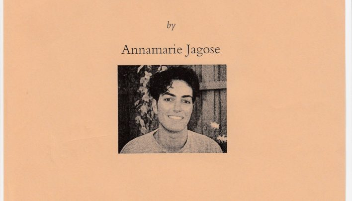 Annamarie Jagose Launch, 7th November 1994