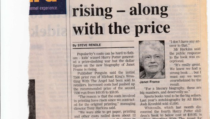 Book Pricing Article, Evening Post, 16th August 2000