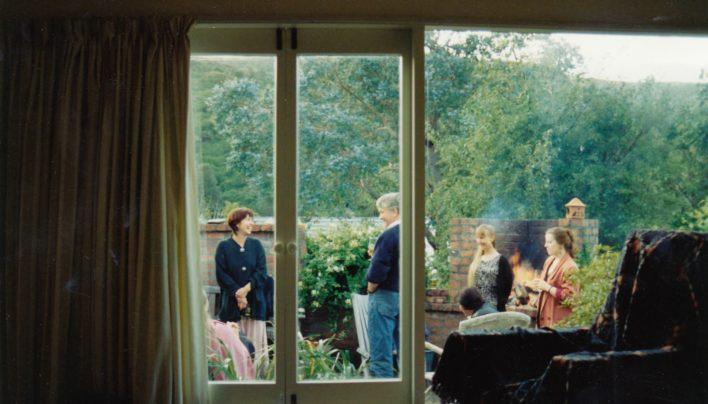 Carolyn Morgan, David Russell, Catherine Hill and Jane Harris, 1993