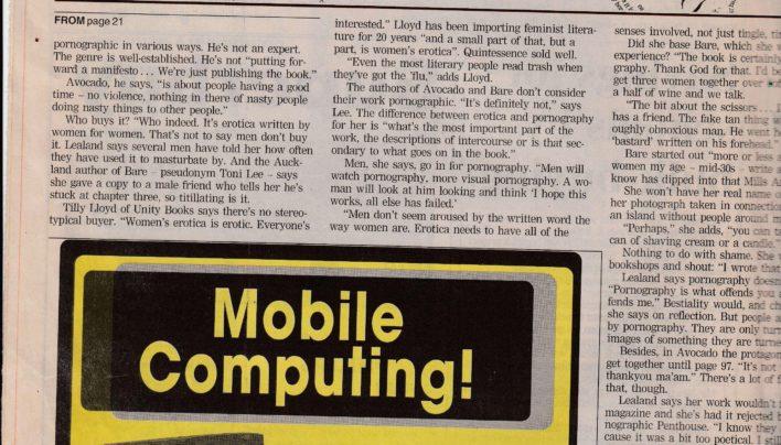 Erotica Story, Evening Post, 2000