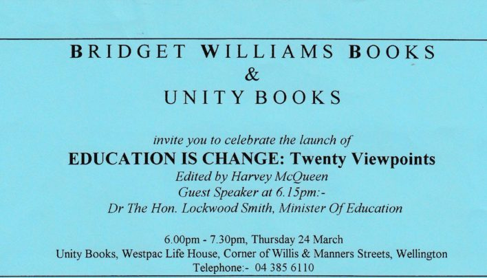 Harvey McQueen Launch, 24th March 1994