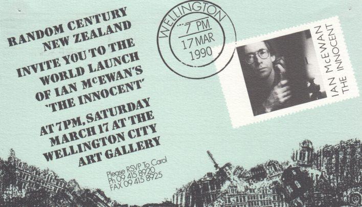 Ian McEwan launch, 17th March 1990