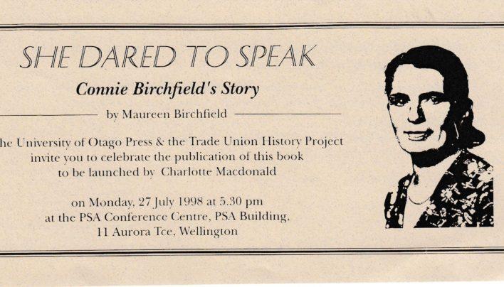 Maureen Birchfield Launch, 27th July 1998