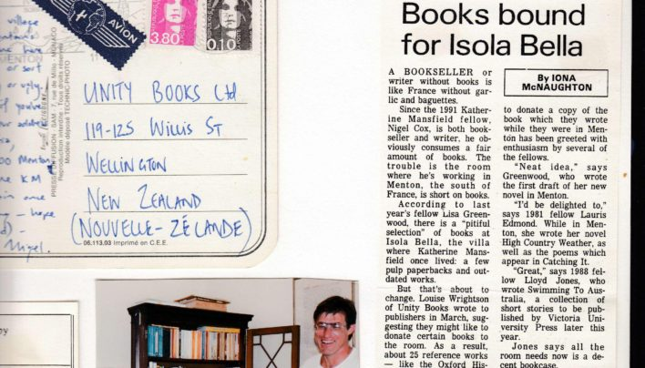 Menton Book Donations, 1991