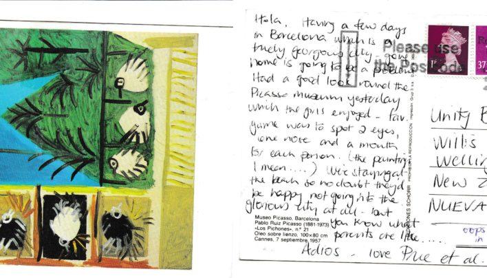 Prue Isaacs Postcard, 1998