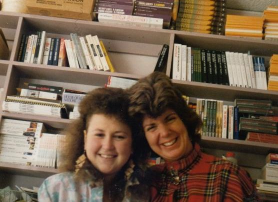Sue Harris and Claire Ainsworth, 1989