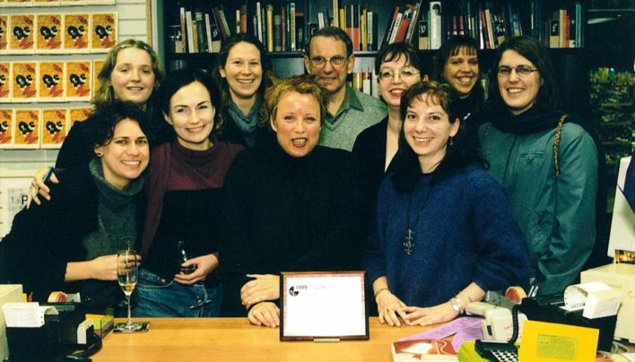 Bookseller of the Year Award, July 1999