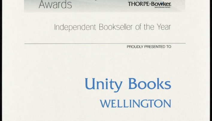 Thorpe Bowker Bookseller of the Year, 2011