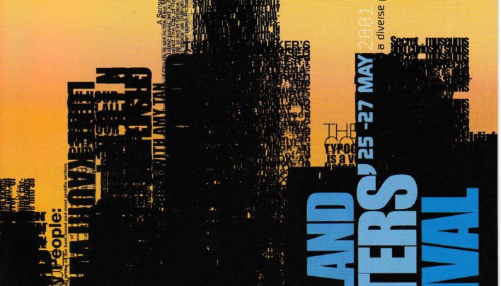 Auckland Writers Festival Programme 25th May2001