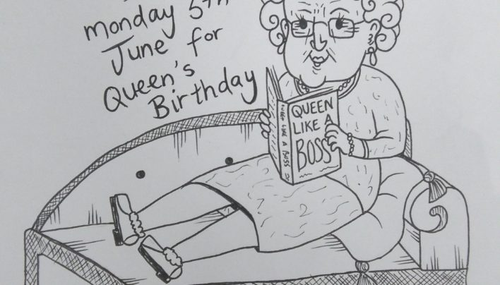 Becky Popham, Queen's Birthday, 5th June 2017