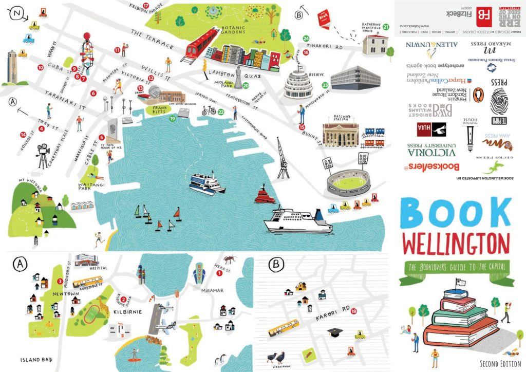 Book Wellington Map 1st Edition 12th February 2015 Unity Books