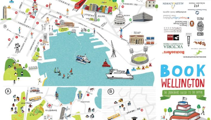 Book Wellington Map, 1st Edition, 12th February 2015