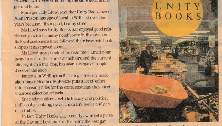 """Books on Brainy Street"" article, 2000"