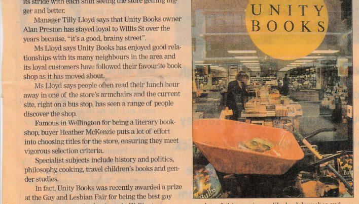 """Books on Brainy Street"" article, 2000"