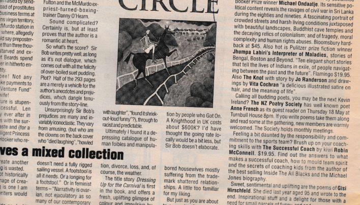 Capital Times Bookmarks column, 2000