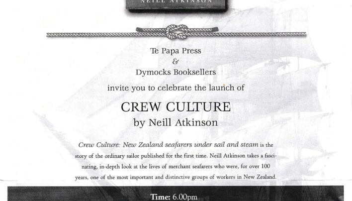 Crew Culture launch, 22nd November 2001