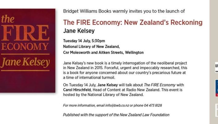 FIRE Economy Launch, 14th July 2015