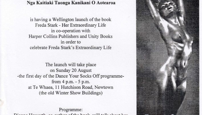 Freda Stark launch, 20th August 2000