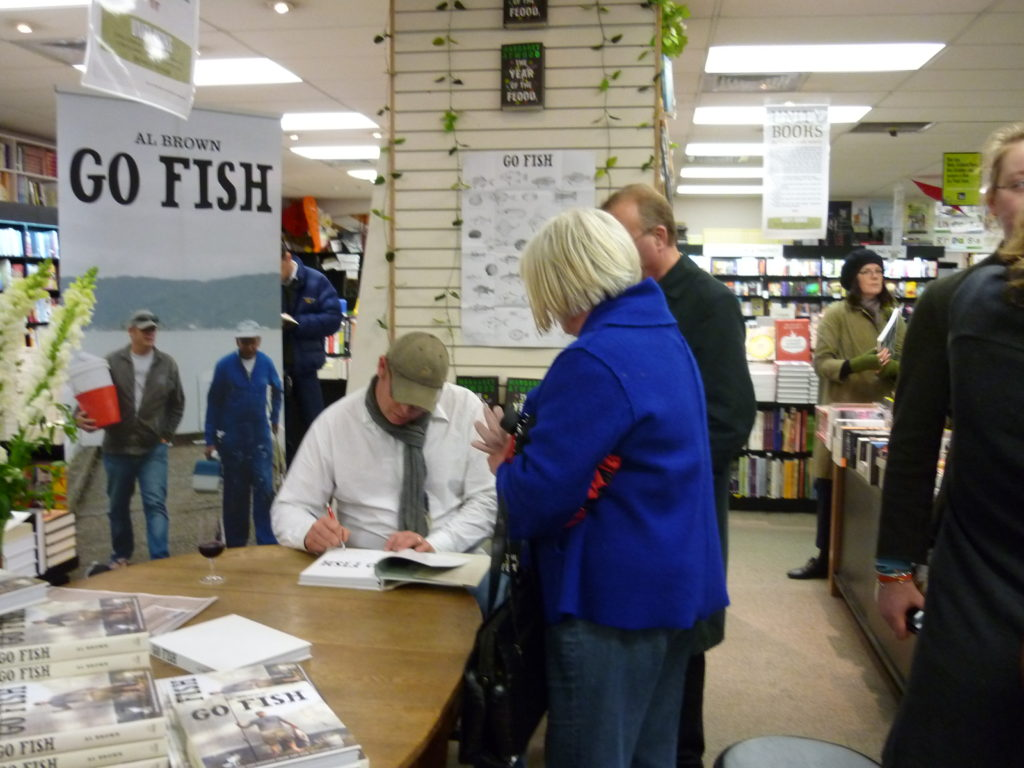 Go fish signing 9th october 2009 unity books for Go fish store