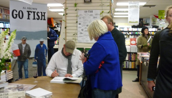 Go Fish signing, 9th October 2009