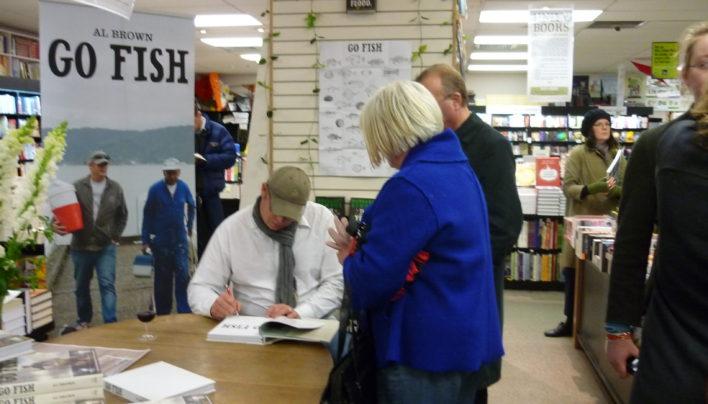 Go Fish signing, 9th October 2009