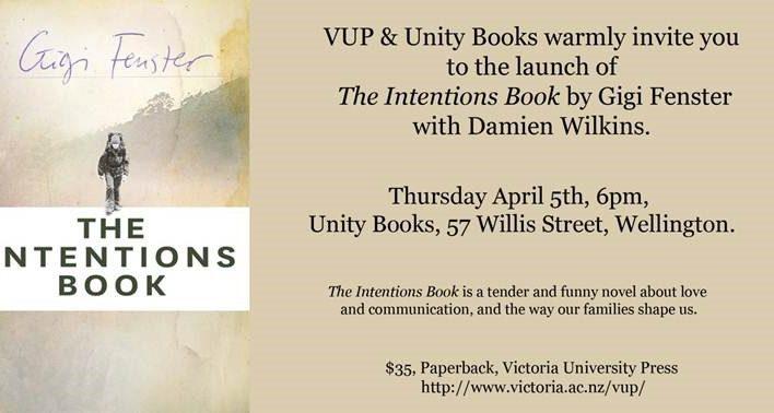 Intentions Book invitation, 5th April 2012