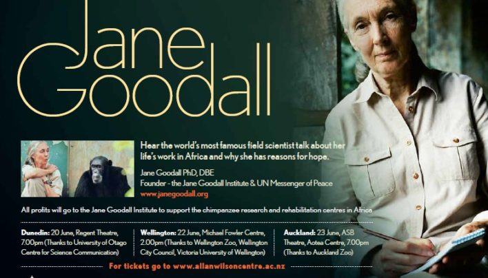 Jane Goodall lecture, 22nd June 2014
