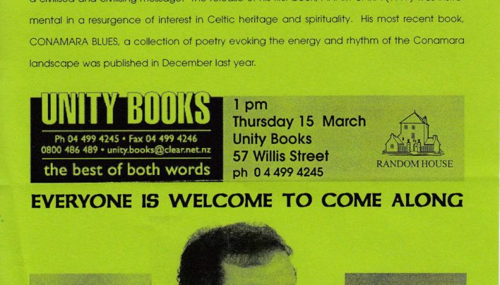 St Patrick's Day with John O'Donohue, 15th March 2000