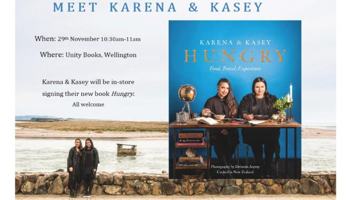 Karena & Kasey Bird: Hungry event, 29th November 2016