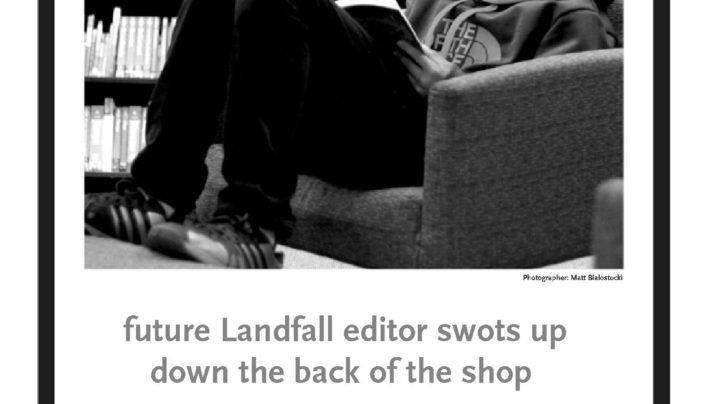 Landfall 227 advertisement, 1st March 2014