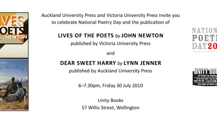 National Poetry Day, 30th July 2010