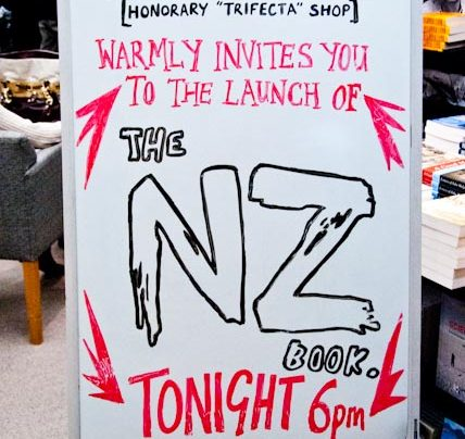 NZ Book Launch, 28th June 2012