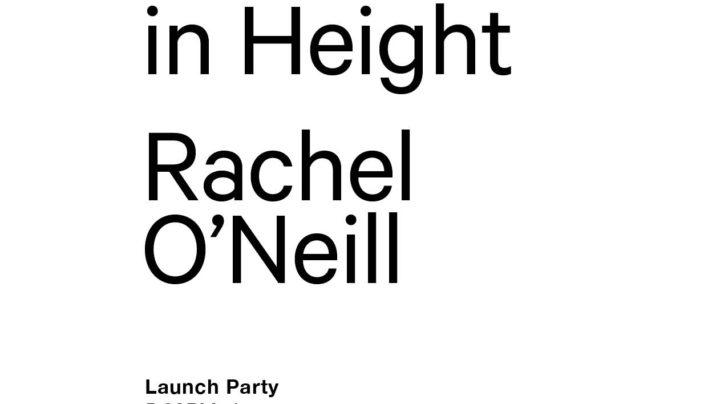 Rachel O'Neill Launch, 11th October 2013