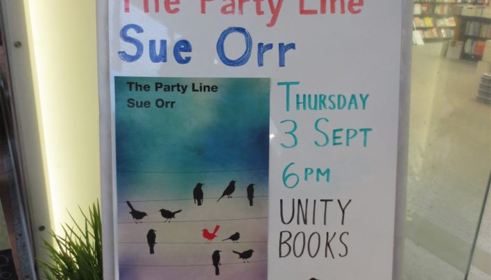 The Party Line launch, 4th September 2015