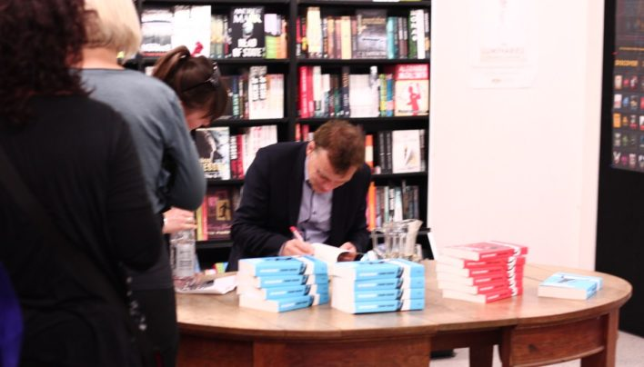 Graeme Simsion event, 3rd November 2014