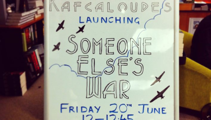 Someone Else's War launch, 20th June 2014